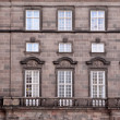 Facade of Christiansborg Palace — Stock Photo