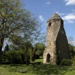 Church ruins of Avesi in Szigliget — Stock Photo