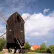 Windmill on Bornholm — Stock Photo