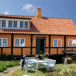 Idyllic country house on Bornholm — Stock Photo