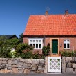 Idyllic family house on Bornholm — Stock Photo
