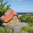 Popular restaurant destination on Bornholm — Stock Photo