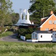 Smokehouse on Bornholm — Stock Photo