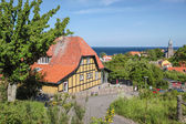 Destino popular restaurante en bornholm — Foto de Stock