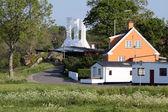 Wędzarnia na bornholm — Zdjęcie stockowe