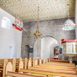 Nave of the St. Peders Kirke on Bornholm — Stock Photo