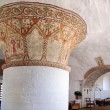 Interior of Hasle Nykirke on Bornholm — Stock Photo