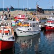 Stock Photo: Fishing boats in the harbor