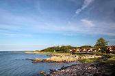 On the coast of Bornholm — Stock Photo