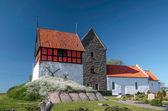Historic church Ruts Kirke on Bornholm — Stock Photo