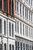 Historic facades — Stock Photo