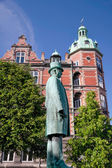 Monument of Hans Christian Andersen in Copenhagen — Stock Photo