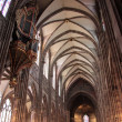 Stock Photo: Nave of Strasbourg cathedral