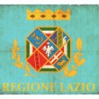 Grunge flag of Latium (Italy) — Foto Stock
