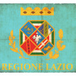 Grunge flag of Latium (Italy) — Stock fotografie