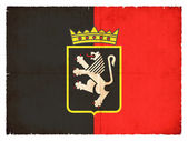 Grunge flag of the Aosta Valley (Italy) — Foto de Stock