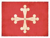 Grunge flag of Pisa (Italy) — Foto Stock