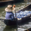 The floating markets of Damnoen Saduak — Stock Photo