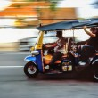 Fast Tuk-Tuk taxi in Bangkok — Stock Photo