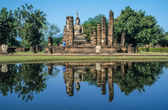 Buddhist temple ruin in Ayutthaya History Parc — Stock Photo