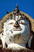 Head of Buddha statue — Stockfoto
