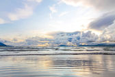 Beach after the storm — Stock Photo