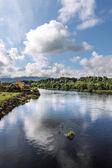 River Laune in Killorglin — Stock Photo