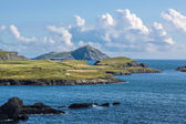 Coastal landscape at Valentia Iceland — Stock Photo