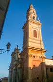 Cathedral Saint-Michel in Menton — Stock Photo