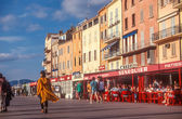 Waterfront of Saint Tropez — Stock Photo
