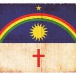 Grunge flag of Pernambuco (Brazil) — Stock Photo