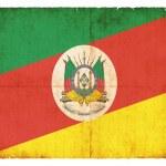 Grunge flag of Rio Grande do Sul (Brazil) — Stock Photo #50543017