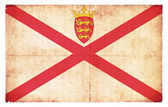 Grunge flag of Sark (Channel Islands, GB) — Stock Photo