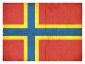Orkney islands (büyük britanya bayrağı grunge) — Stok fotoğraf