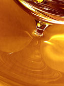 Golden Organic Honey — Stock Photo