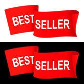 Bestseller banner — Stock Vector