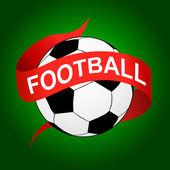 Football icon — Stock Vector