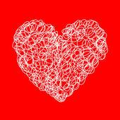 Aşk kalp — Stok Vektör