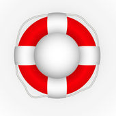 Lifebuoy icon — Stock Vector