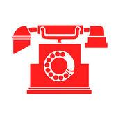 Vintage telephone — Stock Vector
