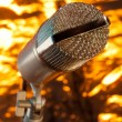 Royalty-Free Stock Photo: Microphone on the stand