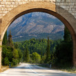 Scenic arch in Croatia - Stock Photo