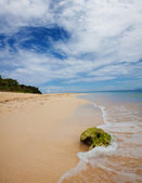 Scenic view of tropical island — Stock Photo