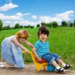 Happy kids having fun together — Stock Photo #13605166