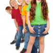 gruppe von happy kids — Stockfoto