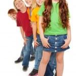Group of happy kids — Stock Photo