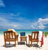 Working paradise — Stock Photo