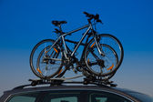 Bike transportation — Photo