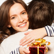 Royalty-Free Stock Photo: Present to boyfriend