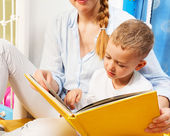 Early reader — Stock Photo